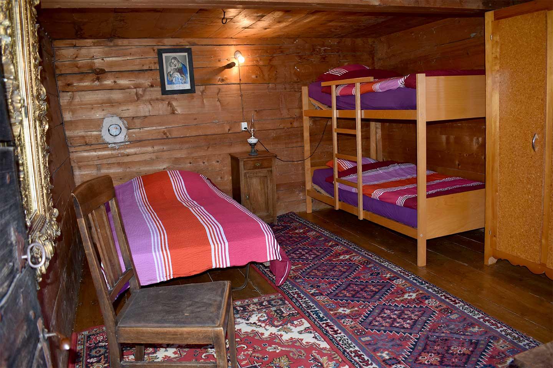 Dortoir 3 lits