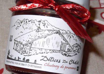 Produit du terroir - alpage La Chaux