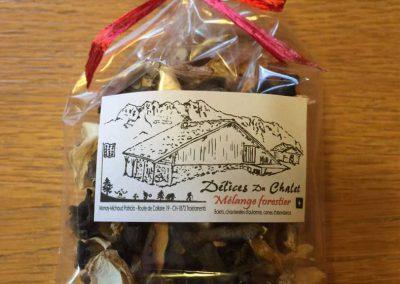 Produit du terroir - champignon - alpage La Chaux
