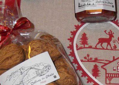 Produits du terroir - assortiment - alpage La Chaux
