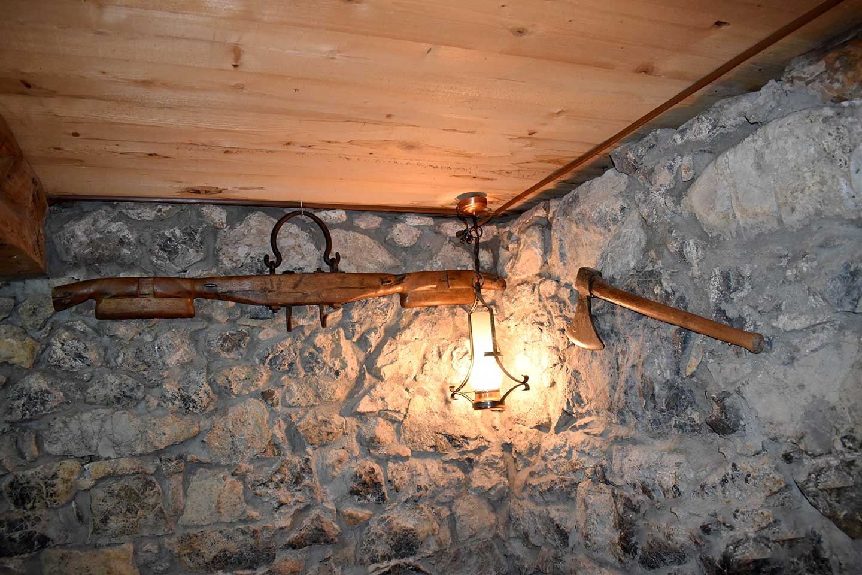 Salle Carnotzet - Décoration